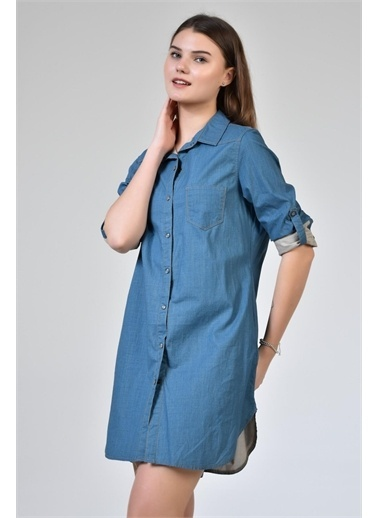 Rodi Jeans Nice 329 Denim Tunik Rd18Yb030802 Yeşil